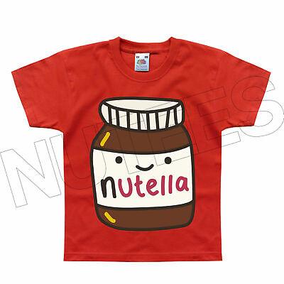 Acquista A Buon Mercato Nutella Funny Cioccolato Nocciola Diffondere Kids T-shirt Da 1-2 A 14-15 Anni-mostra Il Titolo Originale Vendite Economiche 50%