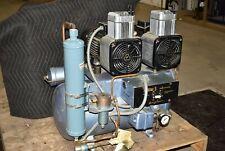 Air Techniques As 3 Dental Air Compressor Oil Free Unit 220v 74 Decibel
