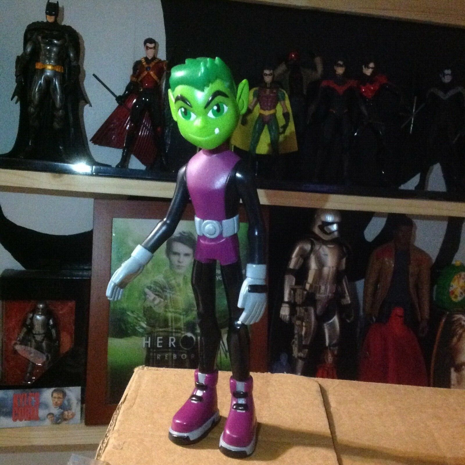 8  Beast Boy Figure Toy - Very Rare Rare Rare - Teen Titans DC Hero  cc4