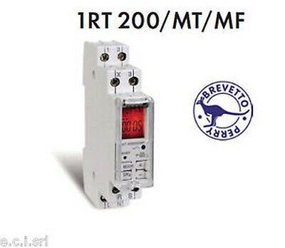 1rt 200/mt/mf Relè Temporizzato Multitensione Multifunzione Con Display 1 Din Carattere Aromatico E Gusto Gradevole
