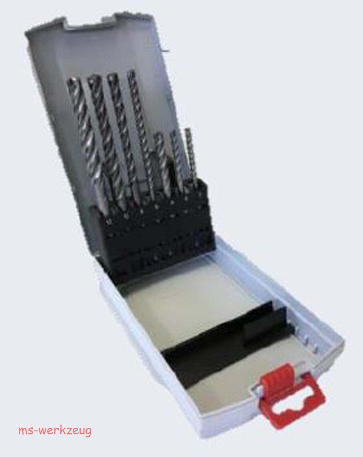 AKTION Bosch Pro Box SDS plus-7x Bohrer-Set 7-tlg.