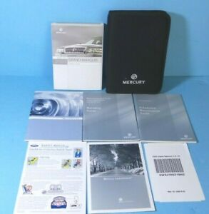 09 2009 Mercury Milan owners manual