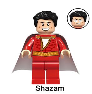 SHAZAM DC LEGO MOC CUSTOM MINIFIGURE TOYS COLLECTION SHAZAM DC BLOCKS BRICKS