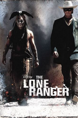 WESTERN MOVIE POSTER The Lone Ranger Movie Poster One Sheet
