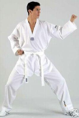 Taekwondo-Anzug Hadan Plus, weißes Revers. Revers. Revers. 160 od.170cm  | Schöne Farbe  | Ausgezeichnet  | Authentische Garantie  597e0e