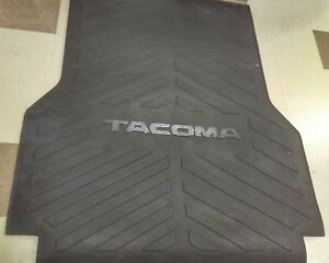 toyota tacoma 2005 2018 short bed mat genuine oem oe ebay details about toyota tacoma 2005 2018 short bed mat genuine oem oe