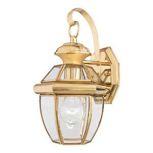 Quoizel Newbury Petit Mur Lanterne 1 X 150 W E27 220-240 V 50 Hz Ip44 Classe I-afficher Le Titre D'origine