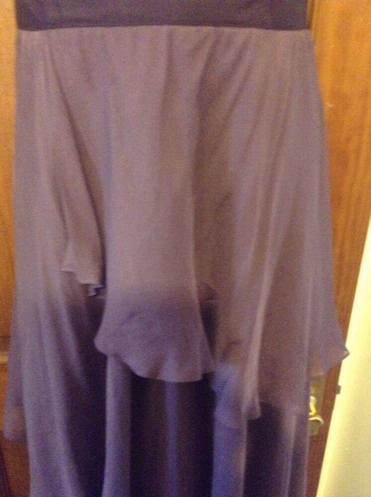 Beautiful Mauve Purple Silk Long Evening Dress MONSOON MONSOON MONSOON 421b59