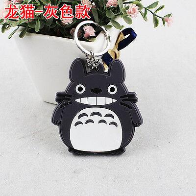 Cute Double-Side Film My Neighbor Totoro Anime Pendant Keychain Kryrings PVC 5cm