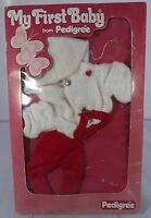 VINTAGE BOXED 1970s PEDIGREE MY FIRST BABY DOLL CLOTHES 11540 PRAM SUIT OUTFIT