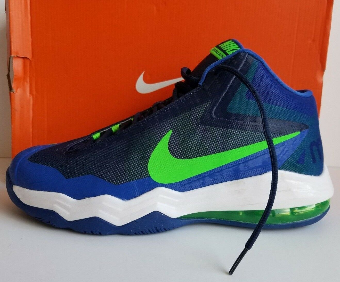 factory price 28b89 90405 Nike Men's Air Max Audacity, Navy Royal Green White Size 11