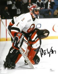 Roberto Luongo Signed Islanders Authentic Autographed 8x10 Photo Jsa