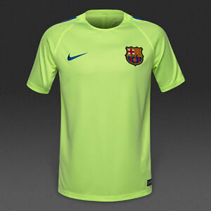 8fed01e67 Image is loading Barcelona-2016-17-training-shirt-by-Nike-boys-