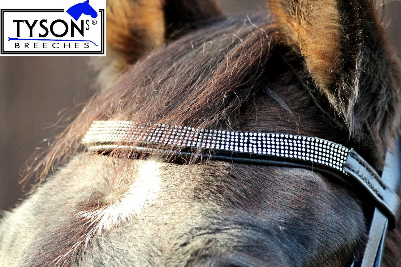 Trense Dots Stirn + + + Nasenriemen verziehrt Leder VB WB + Zügel Reitzaum B WARE  | Outlet  ed289f