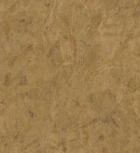 Wallpaper-Designer-Gold-and-Tan-Faux-Stucco