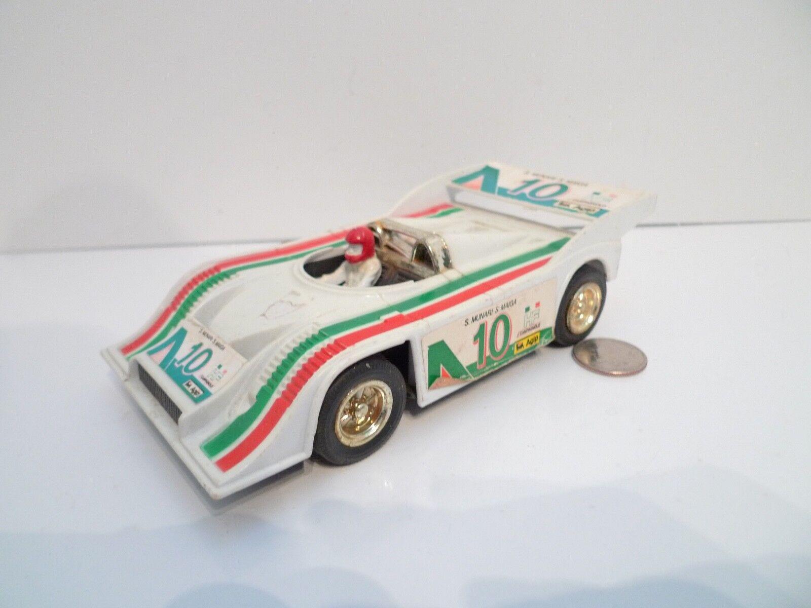 Vintage Roxy Toys S. Munari Maiga Agip Porsche Racing Car No. 384 friction