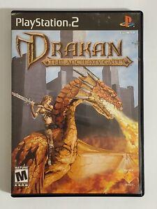 Drakan-The-Ancients-039-Gates-Sony-PlayStation-2-2002-PS2-w-Case-amp-Manual