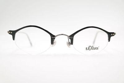 Analitico Vintage S. Oliver S.o.1612 45 [] 24 135 Nero Mezza Bordo Occhiali Montatura Nos-mostra Il Titolo Originale Vari Stili