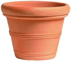 Vaso campana 80 cm resina no plastica vasi per piante da for Vendita vasi plastica