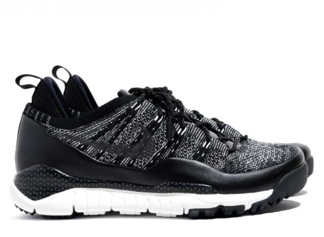 9e31a19a7ffd Nike Lupinek Flyknit Low Running Shoes Black Men 9 882685-100 for ...