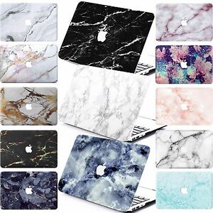 Hard-MARBLE-Case-MATT-CUT-OUT-Laptop-Case-Cover-For-Macbook-Air-Pro-11-034-12-034-13-034-15