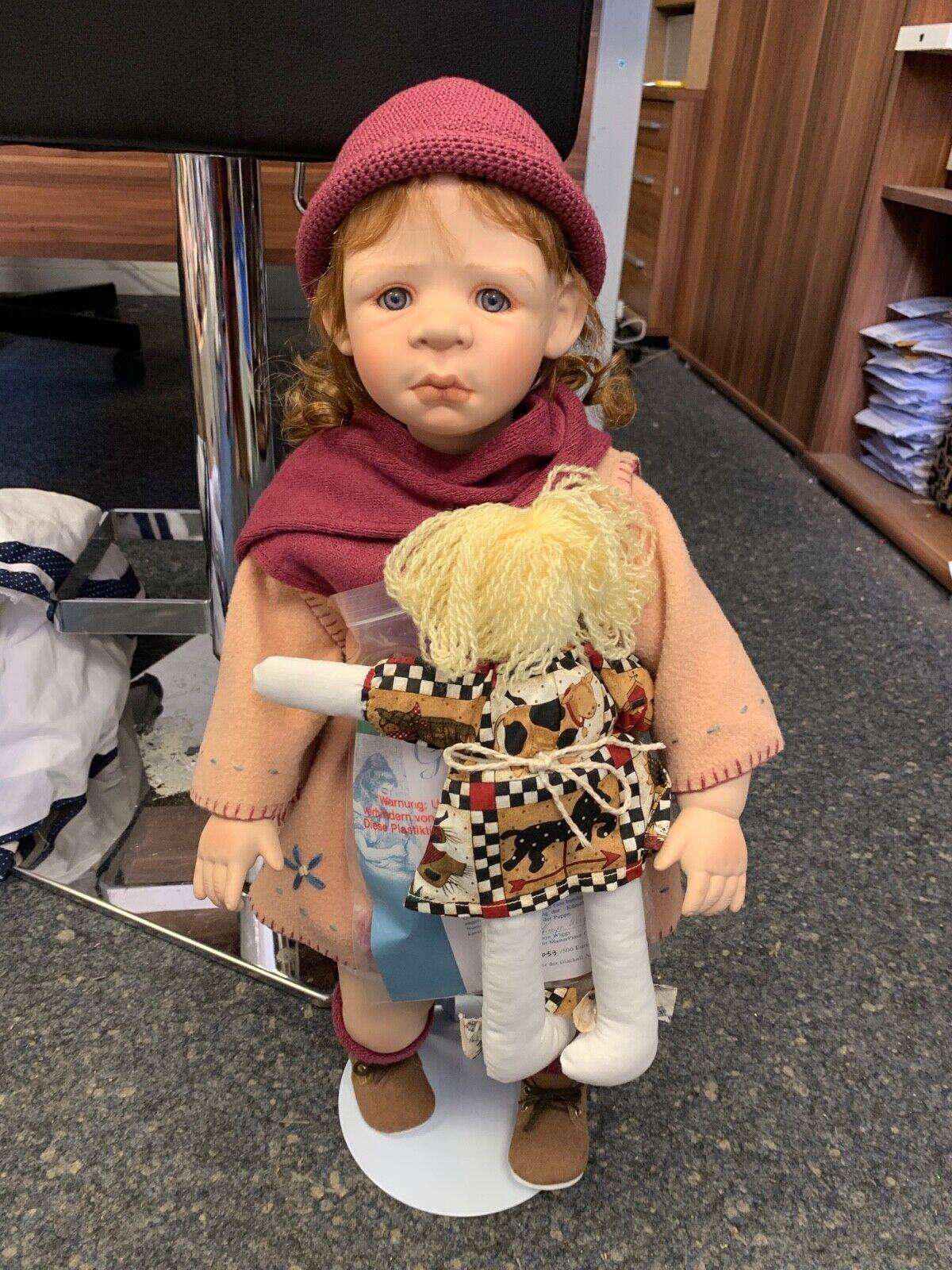KAYE Wiggs ARTISTICO Doll Bambola di porcellana 56 cm. condizione Top