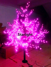 6ft/1.8m LED Cherry Blossom Tree Light Outdoor Home Decor 1,024 LEDs Pink Color