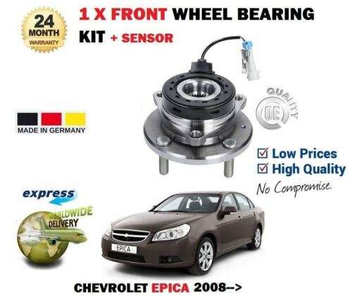 FOR CHEVROLET EPICA 2.0i 2.0D 2008--/>NEW 1 X FRONT WHEEL BEARING KIT SENSOR