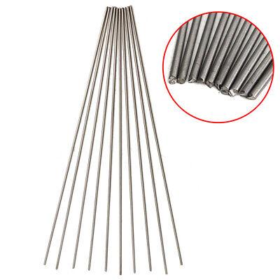 "2mm Dia Titanium 6al-4v round bar .08/"" x 10/"" Ti Wire Welding grade 5 rod 25pcs"