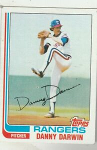 FREE-SHIPPING-MINT-TO-NRMINT-1982-Topps-298-Danny-Darwin-Rangers-BONUS-CARDS
