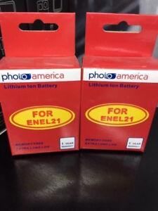 PHOTOAMERICA-Battery-2-Pack-for-Nikon-EN-EL21-MH-28-work-with-Nikon-1