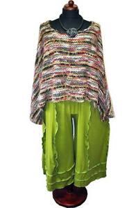 jersey jersey 50 ondulées 48 xxxl coutures 46 Pantalon 52 pistache Marlene Myo en qHtvSt
