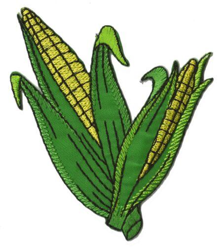 Patch écusson épis de Maïs patche agricole thermocollant broderie brodé