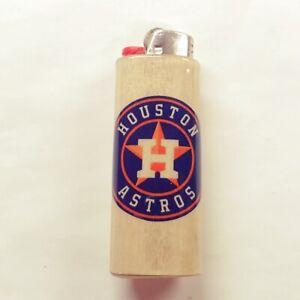 Details about Houston Astros Lighter Case Holder Sleeve Cover Fits Bic  Lighters