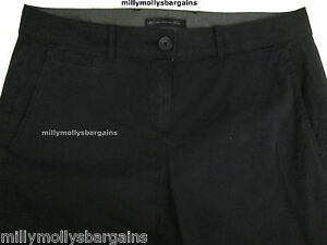 New-Womens-Marks-amp-Spencer-Blue-Chino-Trousers-Size-20-18-14-12-10-8