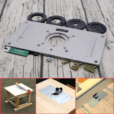 Freud 350000205 precision router table aluminum insert plate ebay aluminum router table insert plate 2351208mm for woodworking engraving machine keyboard keysfo Gallery