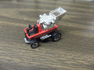HOT-WHEELS-1-64-DIE-CAST-RADIO-FLYER-WAGON-OPENED-MALAYSIA