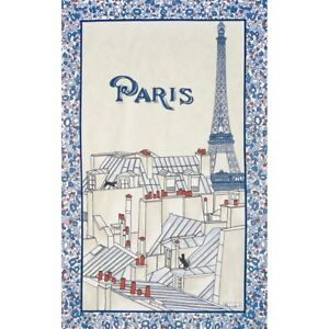 BEAUVILLE-Kitchen-FRENCH-Towel-Les-toits-de-Paris-Roof-Eiffel-Tower-Gift-New-26