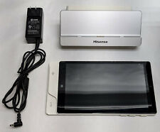 White Hisense Pos Tablet Hm388 8 Touch Screen Win 10 With Docking Station