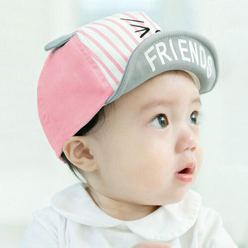 Kinder Baseball Base Cap Mädchen Jungen Sommer Cute Ear Basecap Kappe Mütze Hute