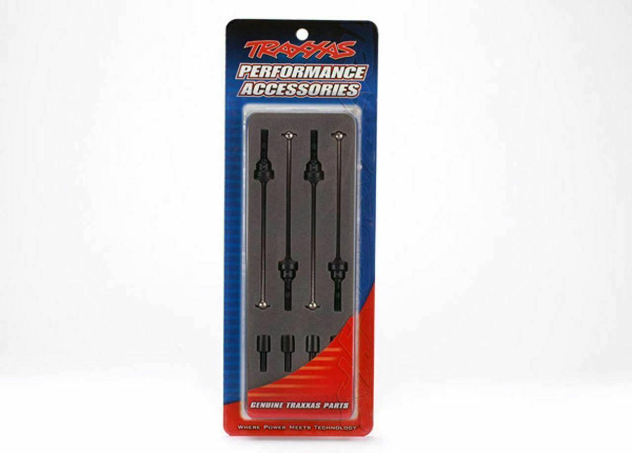 Traxxas 1//16 Assembled Steel CV Driveshaft Set TRA7151X