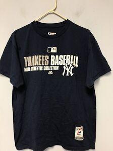d8d49983675 Men s T-Shirt New York Yankees Baseball Majestic MLB Authentic ...