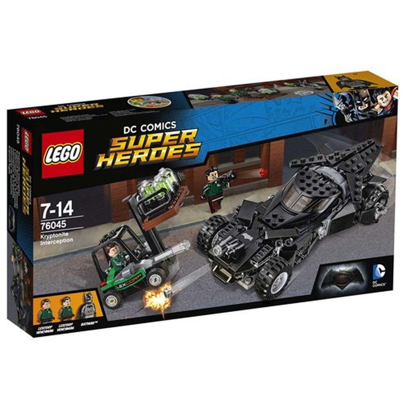 LEGO Super Heroes 76045  Batman v Superman Kryptonite Interception Toy