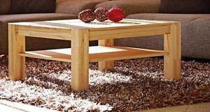 110x70cm Couchtisch Wohnzimmertisch Kernbuche teil massiv Massivholz Tisch