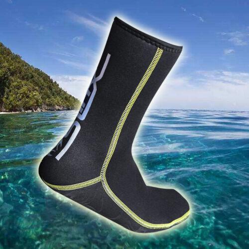 Botas De Mergulho Neoprene 3MM Scuba Roupa De Mergulho Surf Mergulho Natação meias M A2