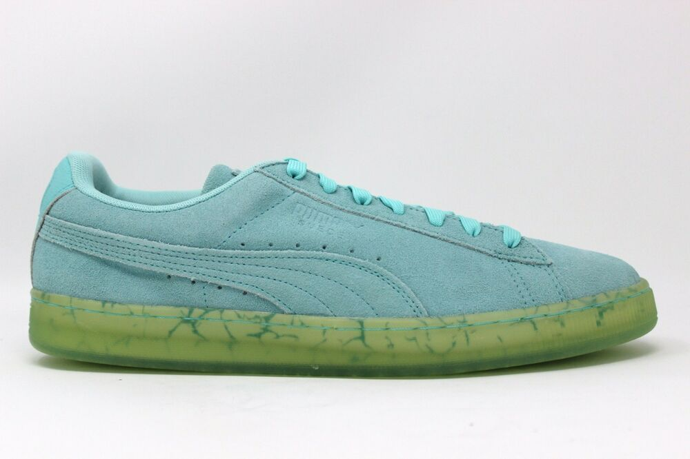 Men's PUMA Suede Classic Easter FM 362556 01 Aruba Bleu Brand New In Box