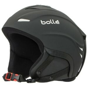 128596044e13 Image is loading Bolle-Bomber-Ski-Snowboard-Helmet-w-Carry-Bag-