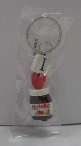 Go PVC Portachiavi con Anello Keychain Vintage Originale - Barattolo Nutella