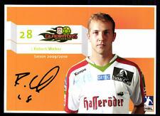 Robert Weber Autogrammkarte Gladiators Magdeburg 2009-10 Original + A 103225