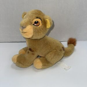 "Vintage The Disney Store Simba Plush The Lion King Stuffed 9"""